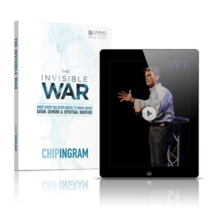 The Invisible War Study Guide for spiritual warfare 600x600 image