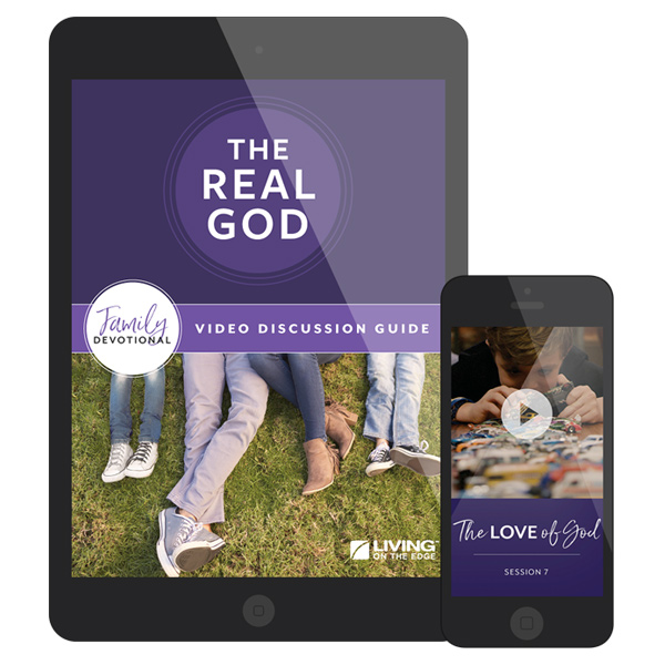 The REAL God Family Devotional Digital Edition image