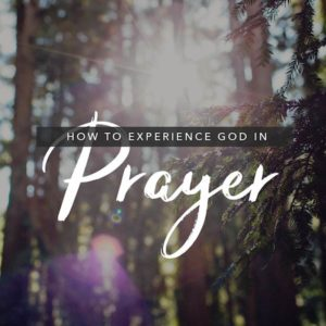 How to Experience God in Prayer Course 600x600 jpg
