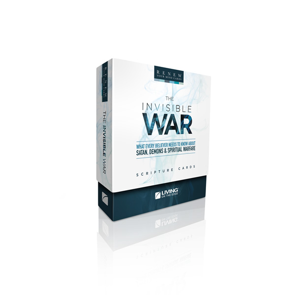 Invisible War Scripture Cards