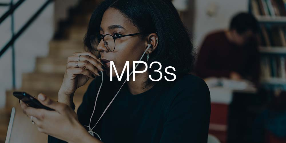 MP3 format category image
