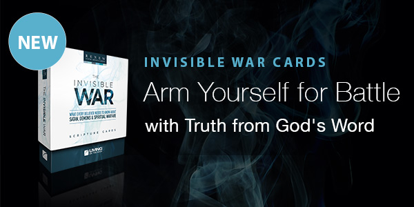 Invisible War Scripture Cards 600x300 Special Offer Image