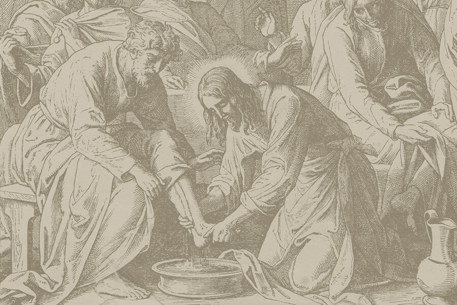 Jesus Washed Disciples Feet KLA Blog 02-2021_900x600 jpg