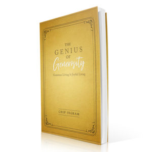 Genius of Generosity Book by Chip Ingram 600x600 jpg